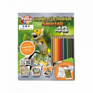 """Libro De Colorear 4D Interactivo """"Animales bebés"""""""