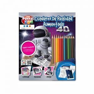 """Libro De Colorear 4D Interactivo""""Espacio exterior"""""""