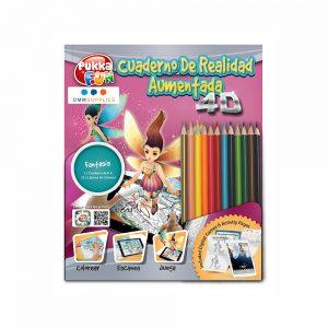 """Libro De Colorear 4D Interactivo""""Fantasía"""""""