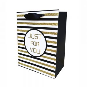 "Bolsa Regalo""Just For You"" 210G (L) 26X32X12cm"