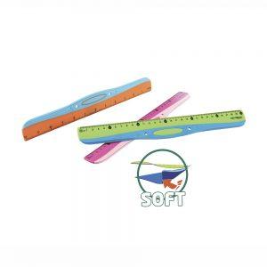 Regla Soft Grip 30 cm