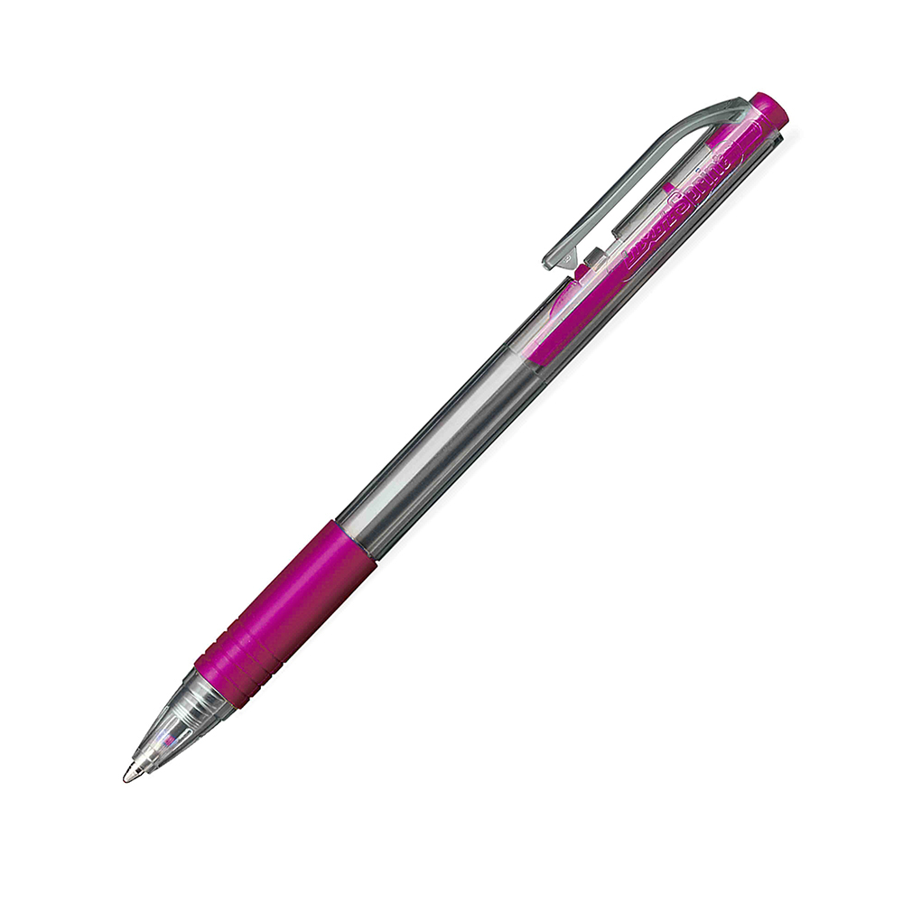 Luxor Sprint Grip Ball Pen Rosa