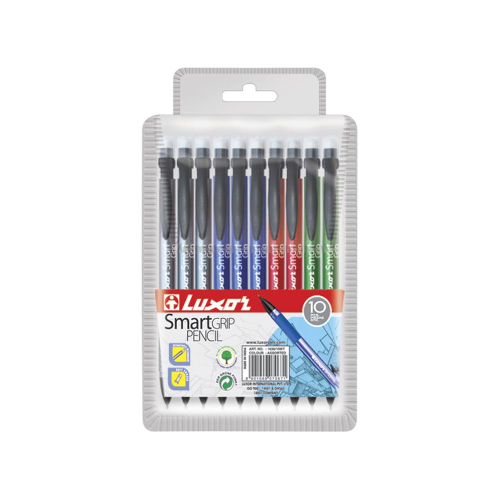 Luxor Smart Grip Pencil 10 uds surtido