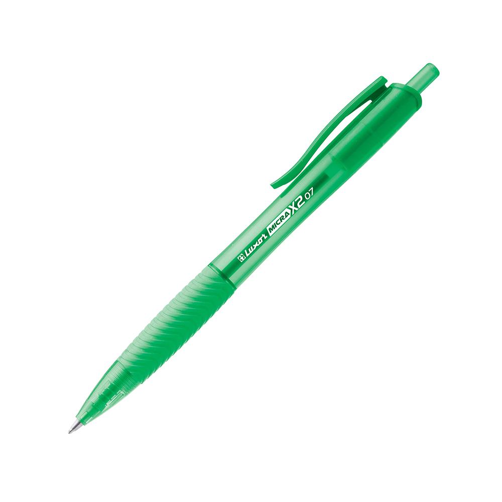 Luxor Micra X2 Ball Pen 0.5mm Verde