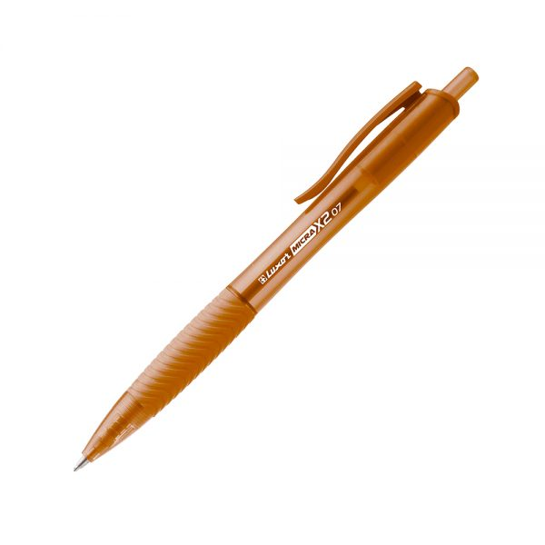 Luxor Micra X2 Ball Pen 0.5mm Naranja
