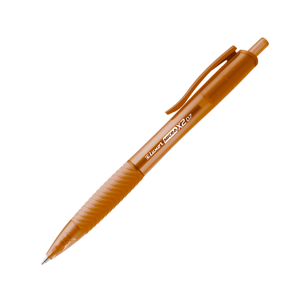 Luxor Micra X2 Ball Pen 0.5mm Naranja