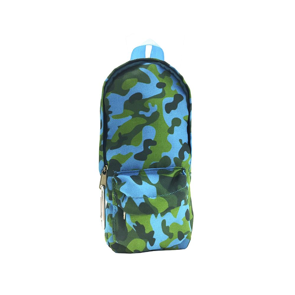 Portatodo camuflaje Verde-Azul Celeste