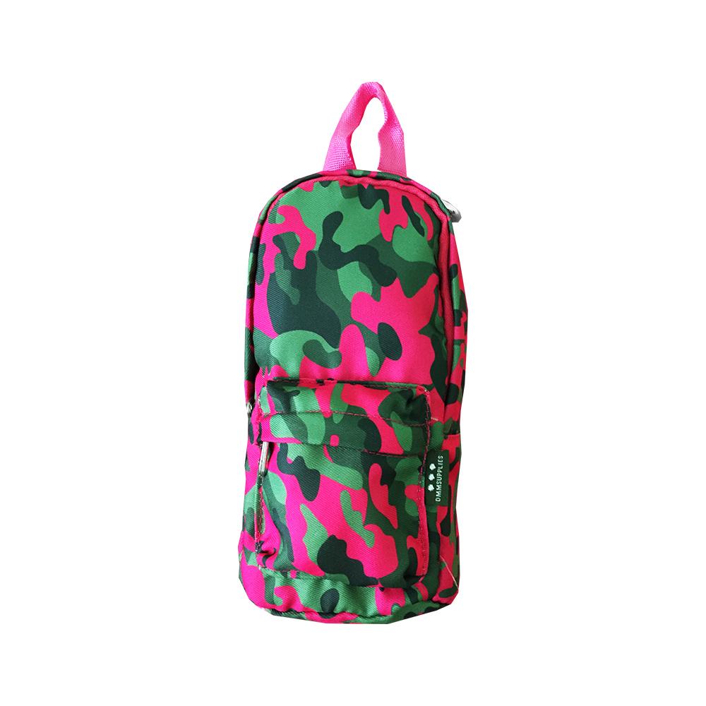 Portatodo camuflaje Verde-Rosa
