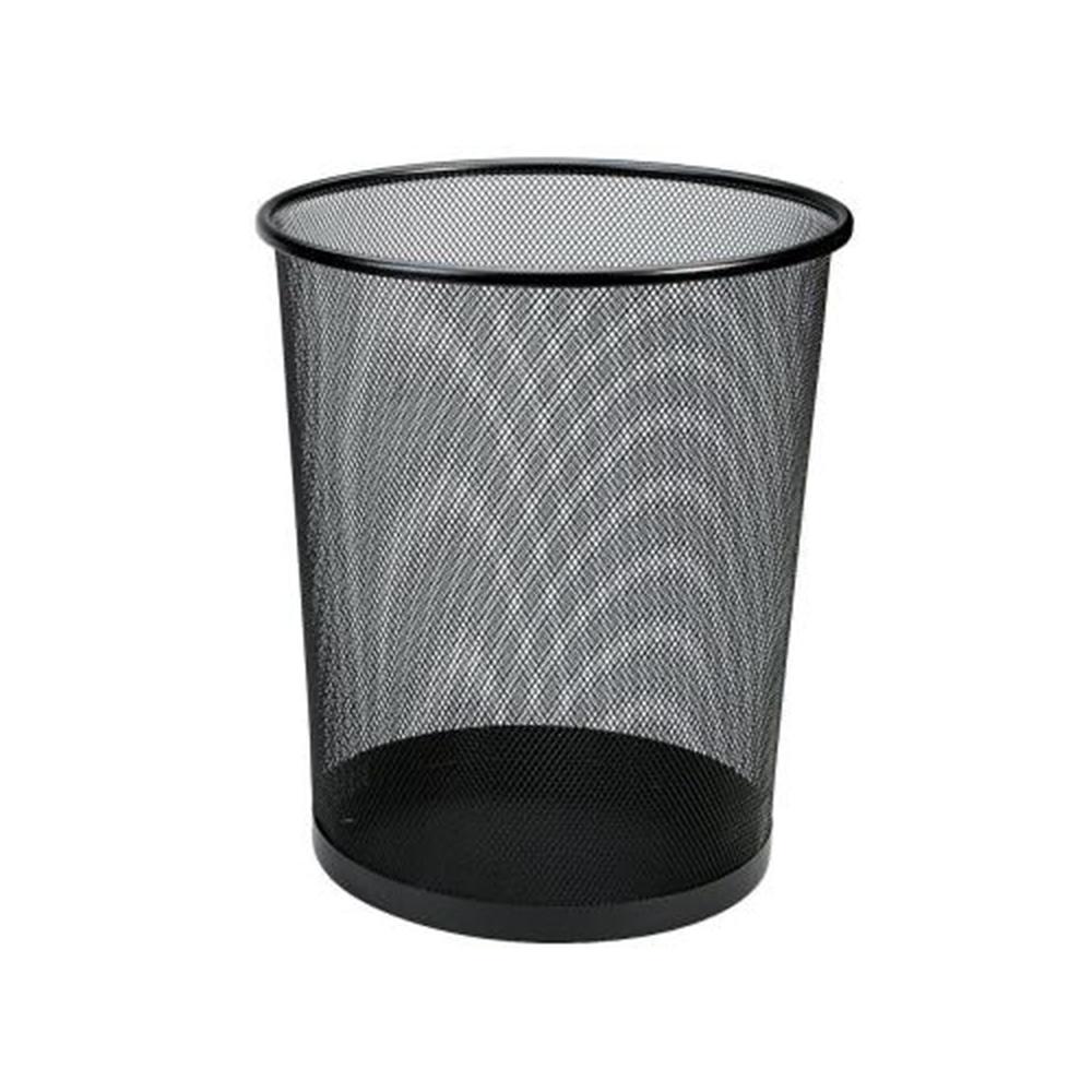 Papelera Negra Rejilla  28X27X21,5 cm