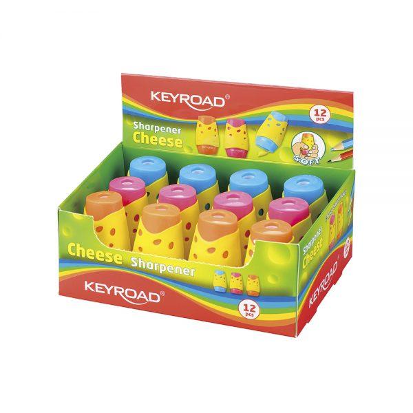 Sacapuntas Con Depósito Cheese Caja De 12U