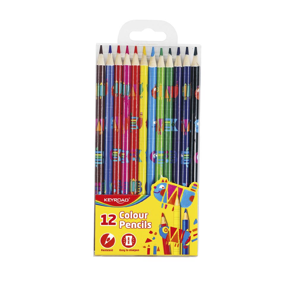 """Lápices de colores surtidos """"Tatoo"""" (caja 12 uds)"""